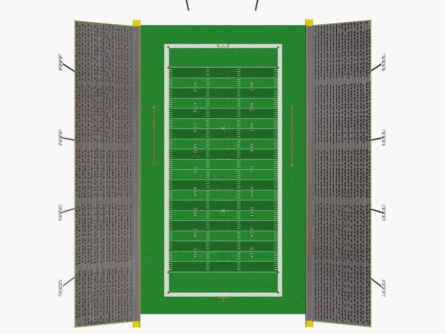 Футбольный стадион Малый royalty-free 3d model - Preview no. 2