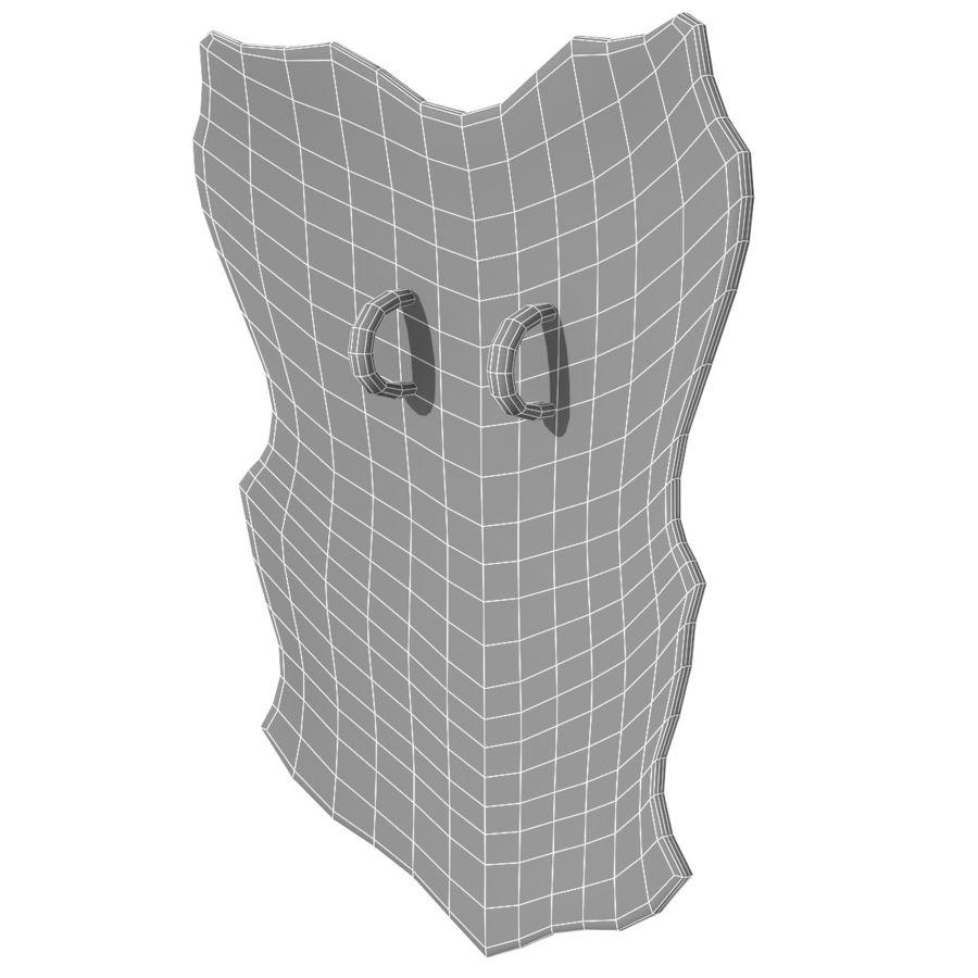 Bouclier du guerrier royalty-free 3d model - Preview no. 7