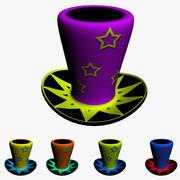Magician Cap 3d model