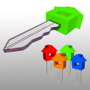 House Key 3d model