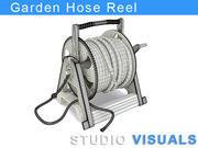 Garden Hose Reel 3d model