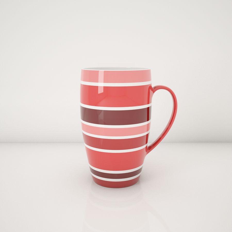 Kolorowe kubki royalty-free 3d model - Preview no. 7
