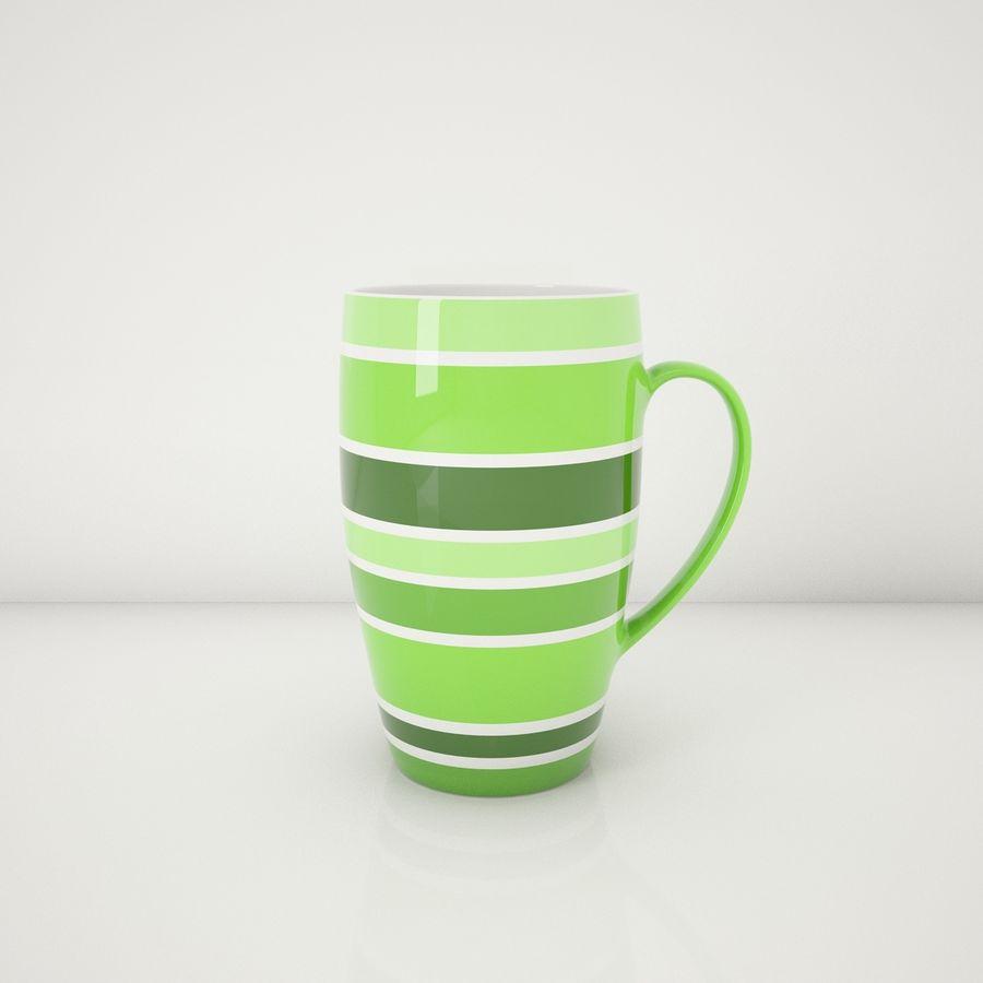 Kolorowe kubki royalty-free 3d model - Preview no. 4