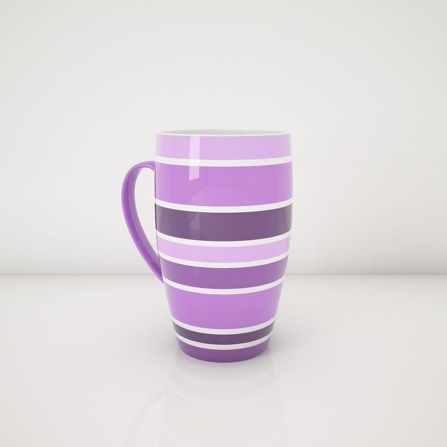 Kolorowe kubki royalty-free 3d model - Preview no. 10
