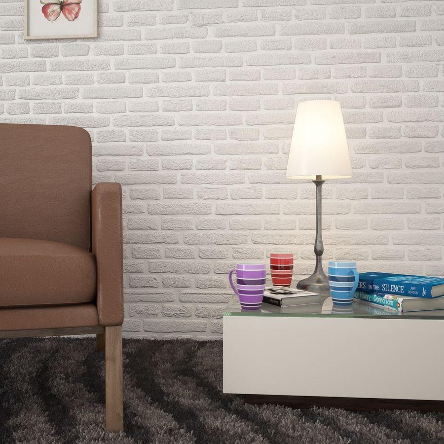 Kolorowe kubki royalty-free 3d model - Preview no. 3