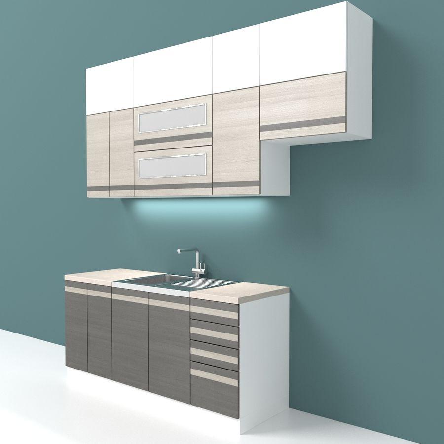 Kitchen Simple 3d Model 9 Obj Dwg 3ds Max Free3d