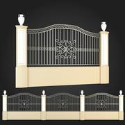 Fence 008 3d model