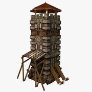Wachttoren2 3d model