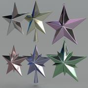 Étoile de noël 3d model