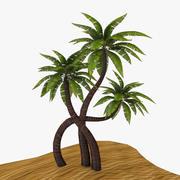 egzotyczne drzewo 3d model