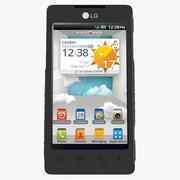 LG Optimus 3d model