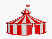 duży namiot 3d model