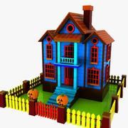 Cartoonhuis (11) 3d model