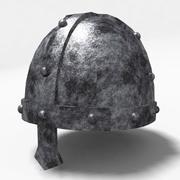 capacete de cavaleiro templário 2 3d model