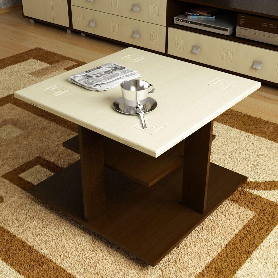 Muebles de sala 02 royalty-free modelo 3d - Preview no. 6