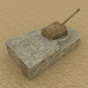 Tanque 3d model
