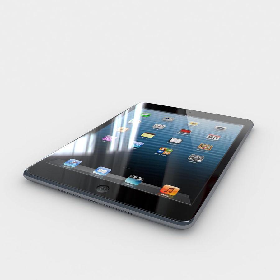 Apple iPad mini 2 royalty-free 3d model - Preview no. 1