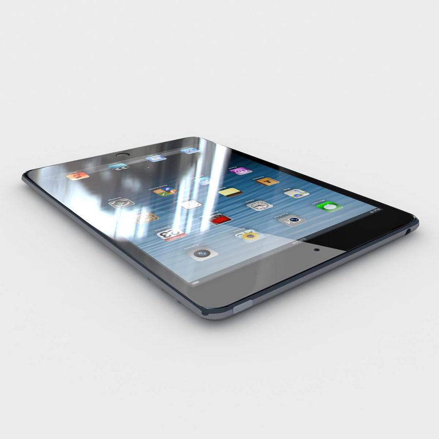Apple iPad mini 2 royalty-free 3d model - Preview no. 2