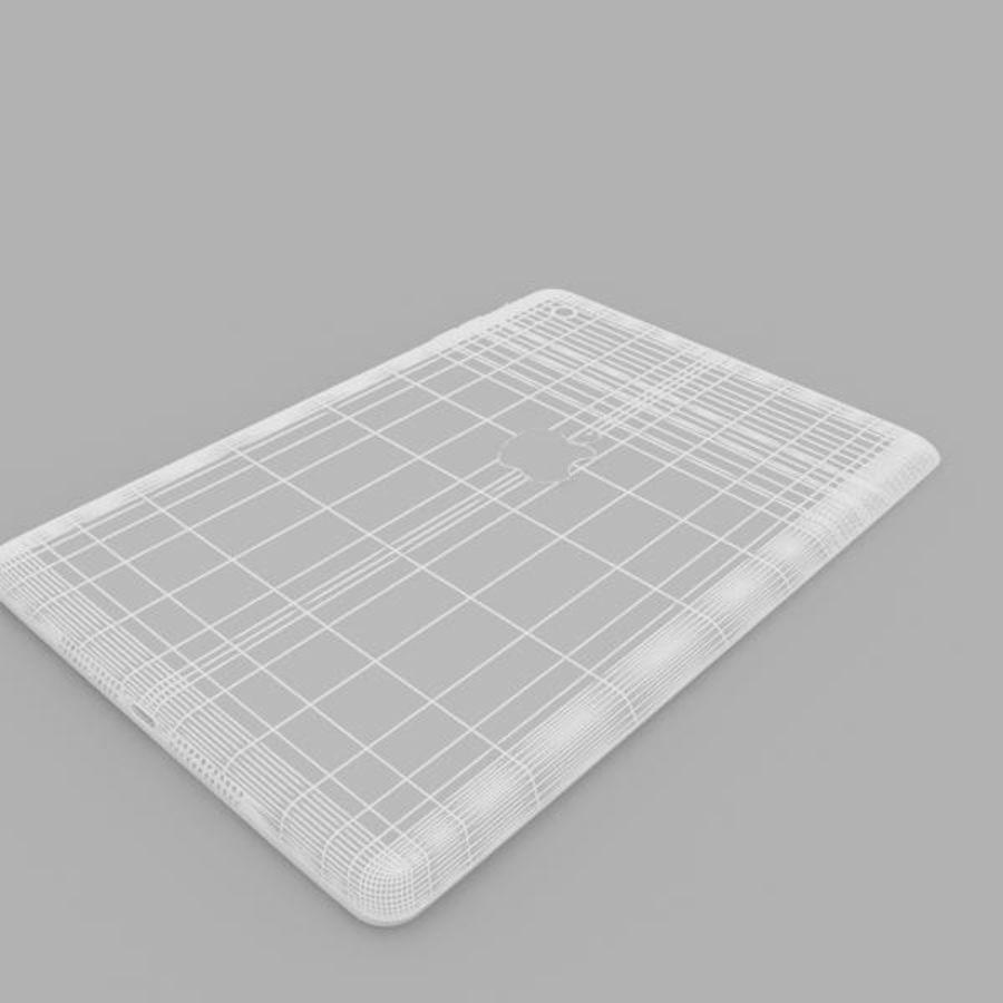 Apple iPad mini 2 royalty-free 3d model - Preview no. 8