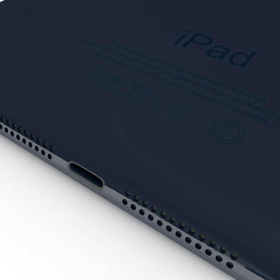 Apple iPad mini 2 royalty-free 3d model - Preview no. 4