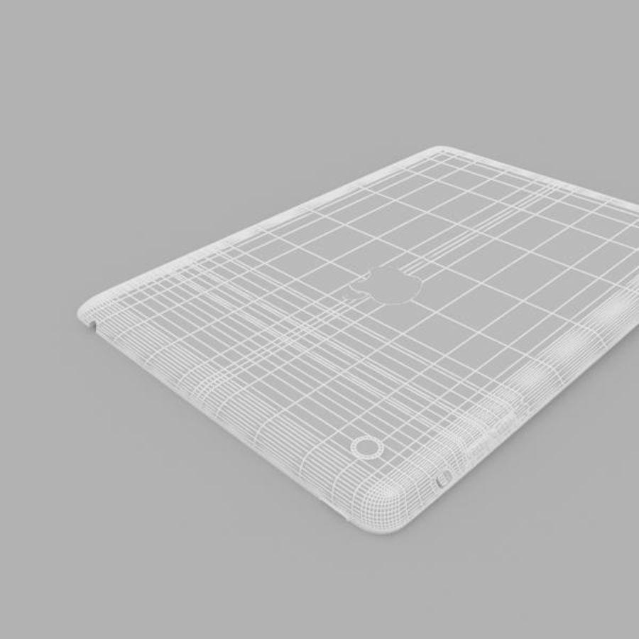 Apple iPad mini 2 royalty-free 3d model - Preview no. 9