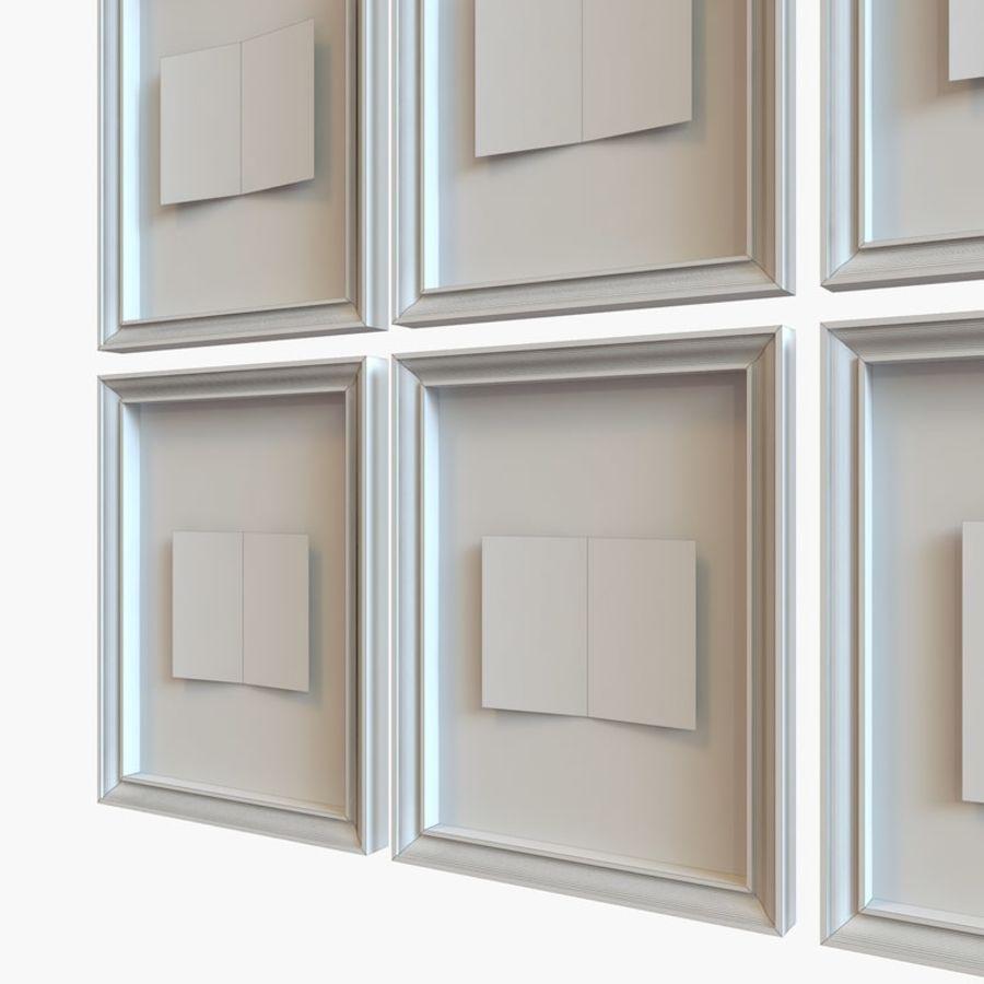 Decorazioni per interni - Butterfly incorniciata V2 royalty-free 3d model - Preview no. 4