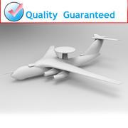 航空機 3d model