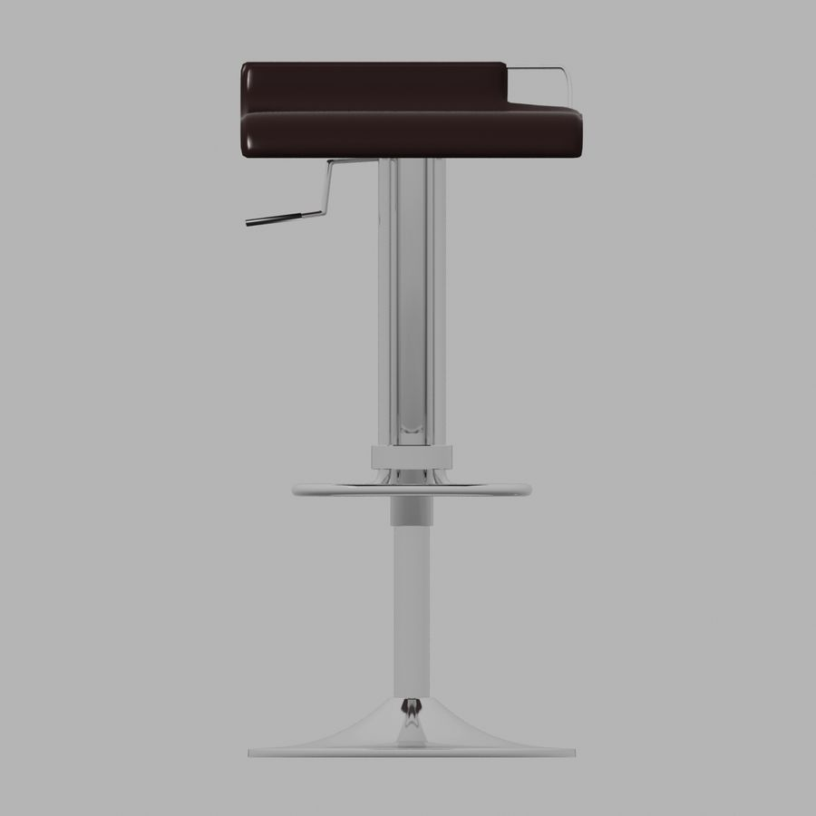 Tabouret Chaise royalty-free 3d model - Preview no. 2