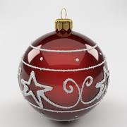 Christmas Ball Red 3d model