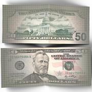 50 Dollar Bill 3d model