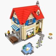 Lego House Set 6754 3d model