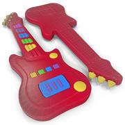 Guitarra de brinquedo 3d model