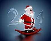 Animasyonlu Noel Baba 3d model