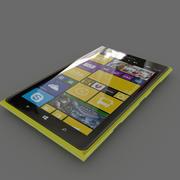 Nokia Lumia 1520 (желтый) 3d model