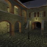 Gamla italienska lägenheter 3d model