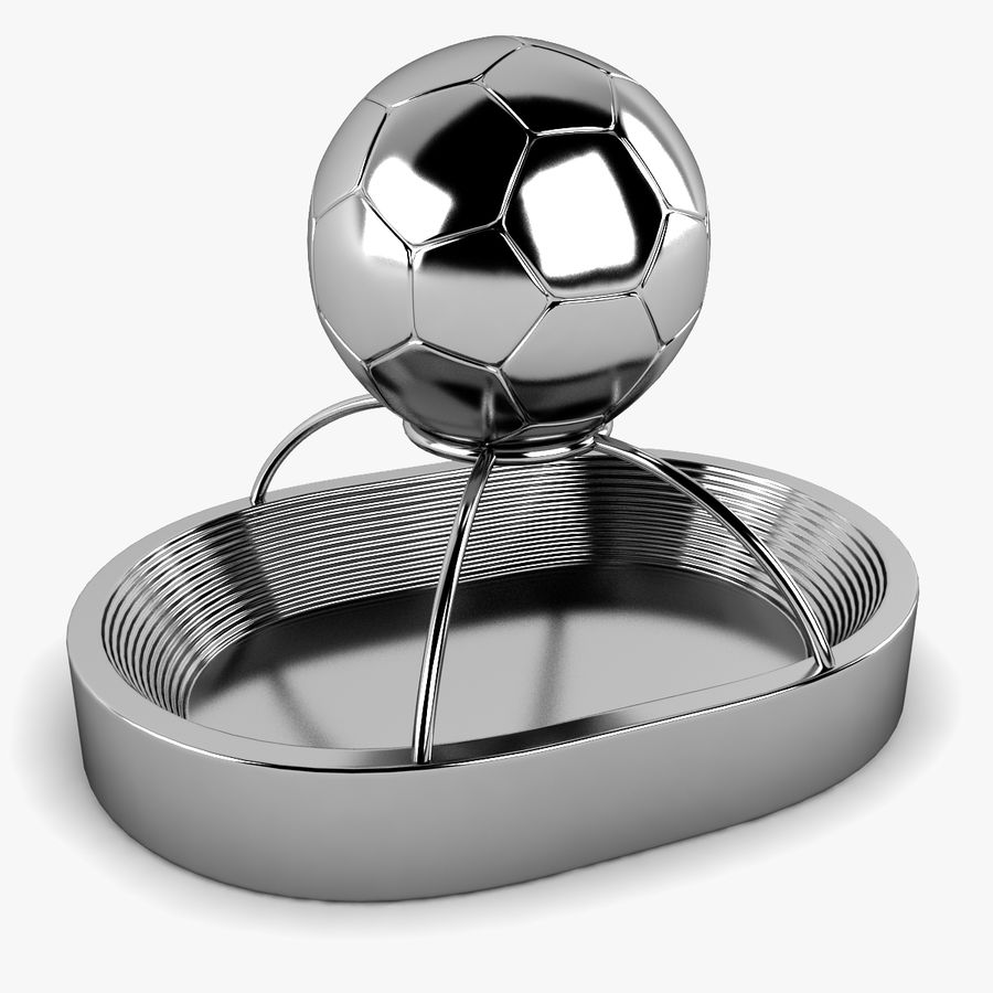 Football Stadium Trophy royalty-free 3d model - Preview no. 1