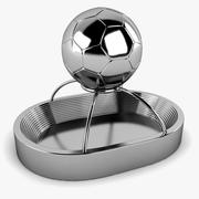 Football Stadium Trophy 3d model