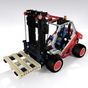 Lego Technic Forklift 3d model