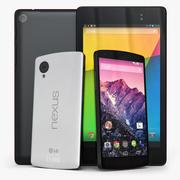 Nexus 5 + 7 2013 3d model