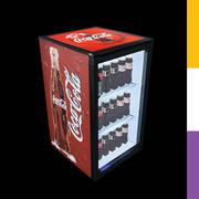 Напитки Холодильник Кока-Кола СКТ 3d model