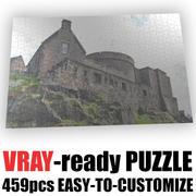 Puzzle (459 Teile) 3d model