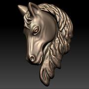 馬の頭の救済 3d model