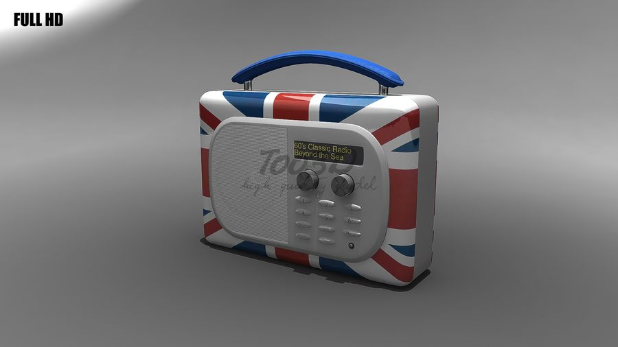 Radio royalty-free 3d model - Preview no. 1