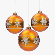 Globos De Navidad modelo 3d