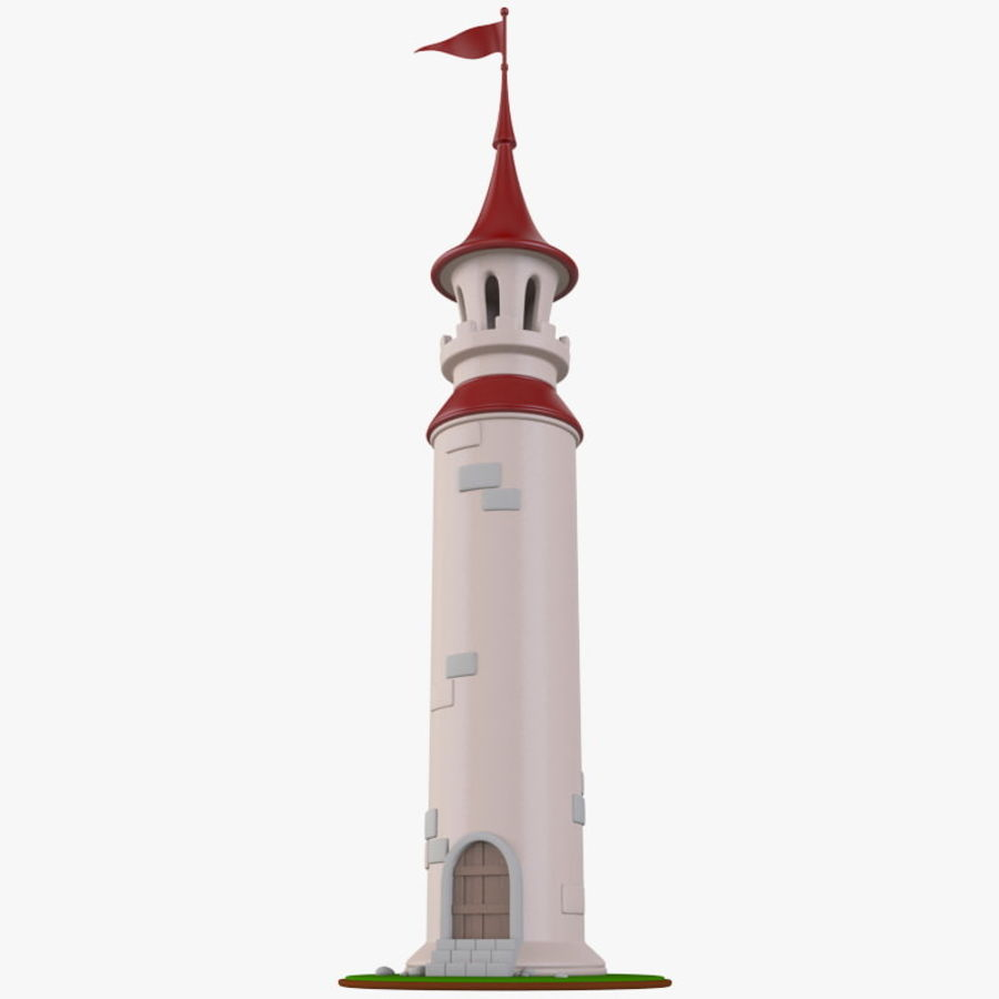 Wieża royalty-free 3d model - Preview no. 1
