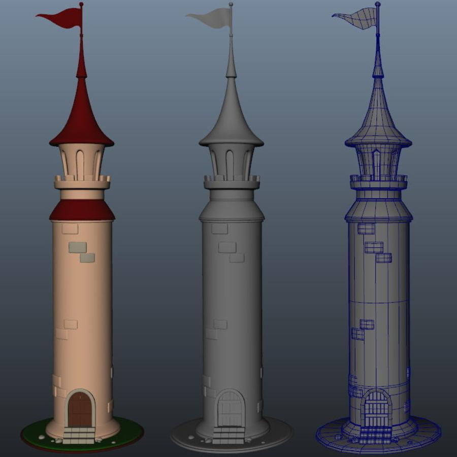 Wieża royalty-free 3d model - Preview no. 5
