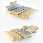 床上用品 3d model