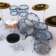 ドラムセットアクリル 3d model