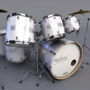 Drum Set Highwood 3d model