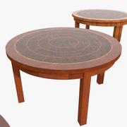 Luksusowy stół do rezydencji fantazyjny wróżbita 3d model